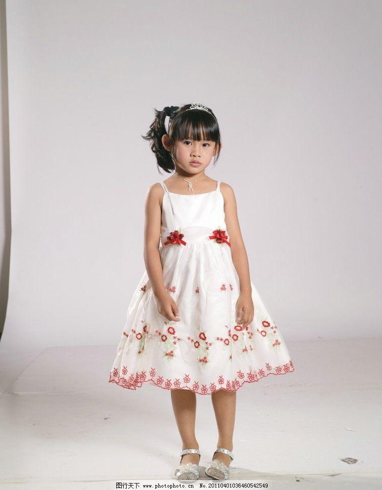 童装图片,漂亮可爱的小孩 儿童人物 童装素材 公主裙