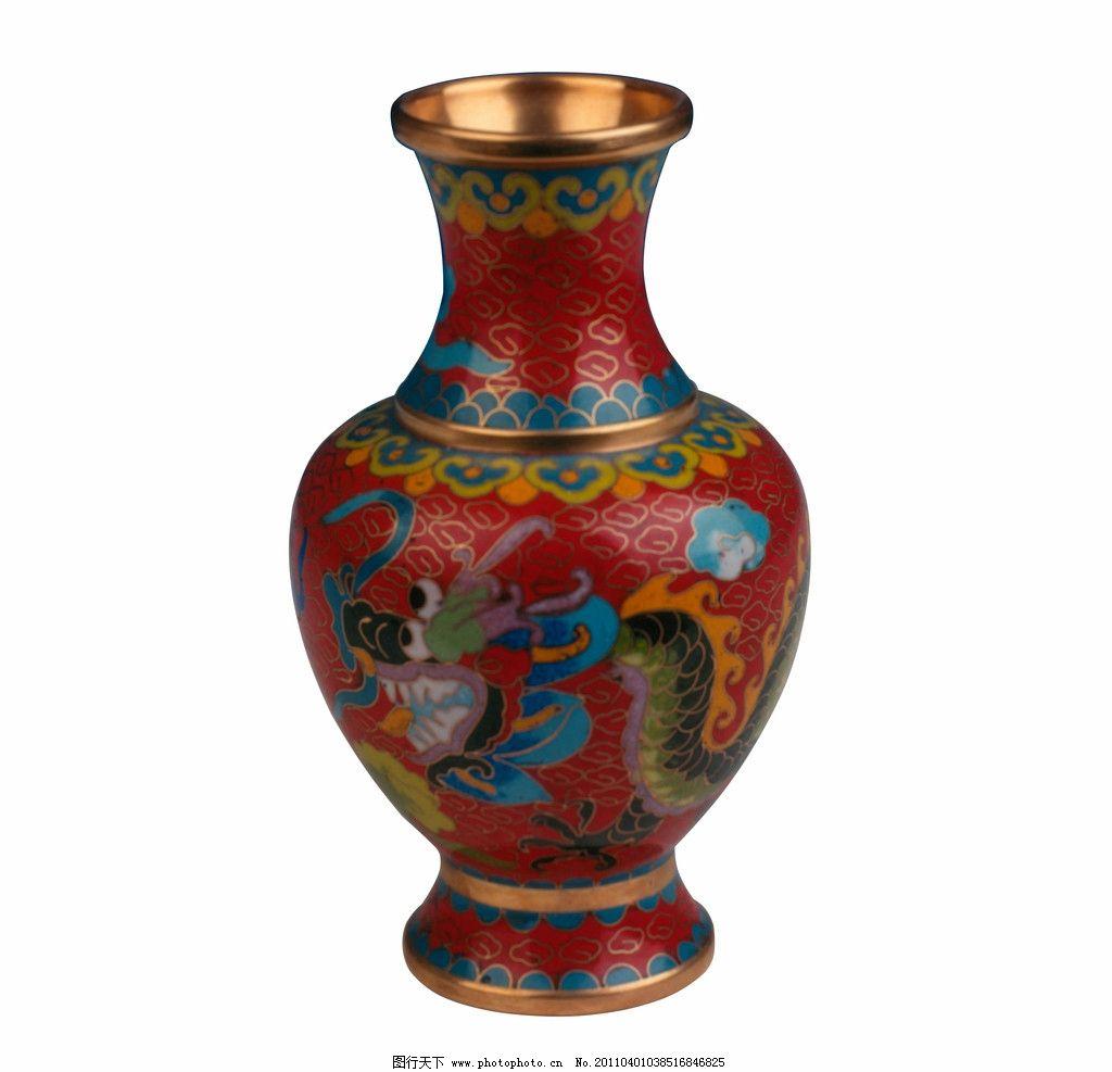 彩铅花瓶手绘渐变