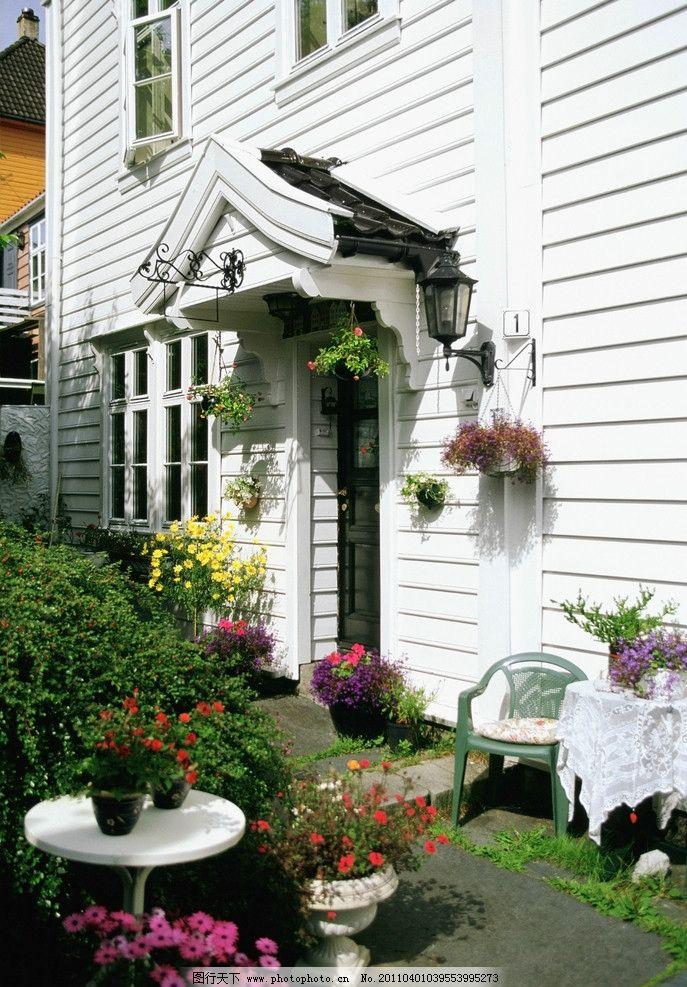 欧式庭院图片