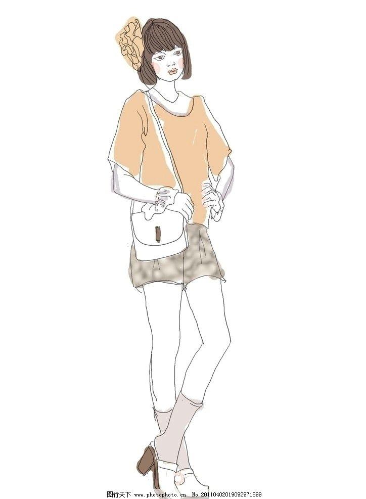 时装画 时装效果图 服装画 服装效果图 手绘时装画 手绘服装效果图 服