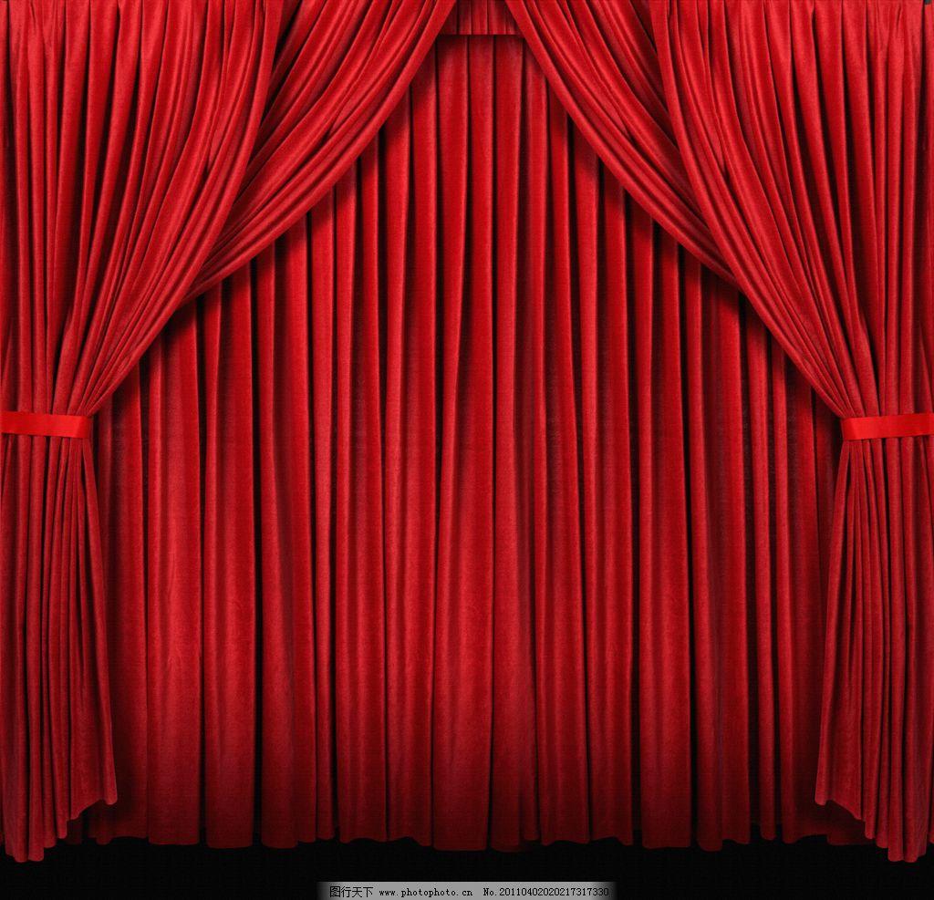 設計圖庫 底紋邊框 背景底紋  窗簾 幕布 紅色幕布高清圖片 紅色幕布