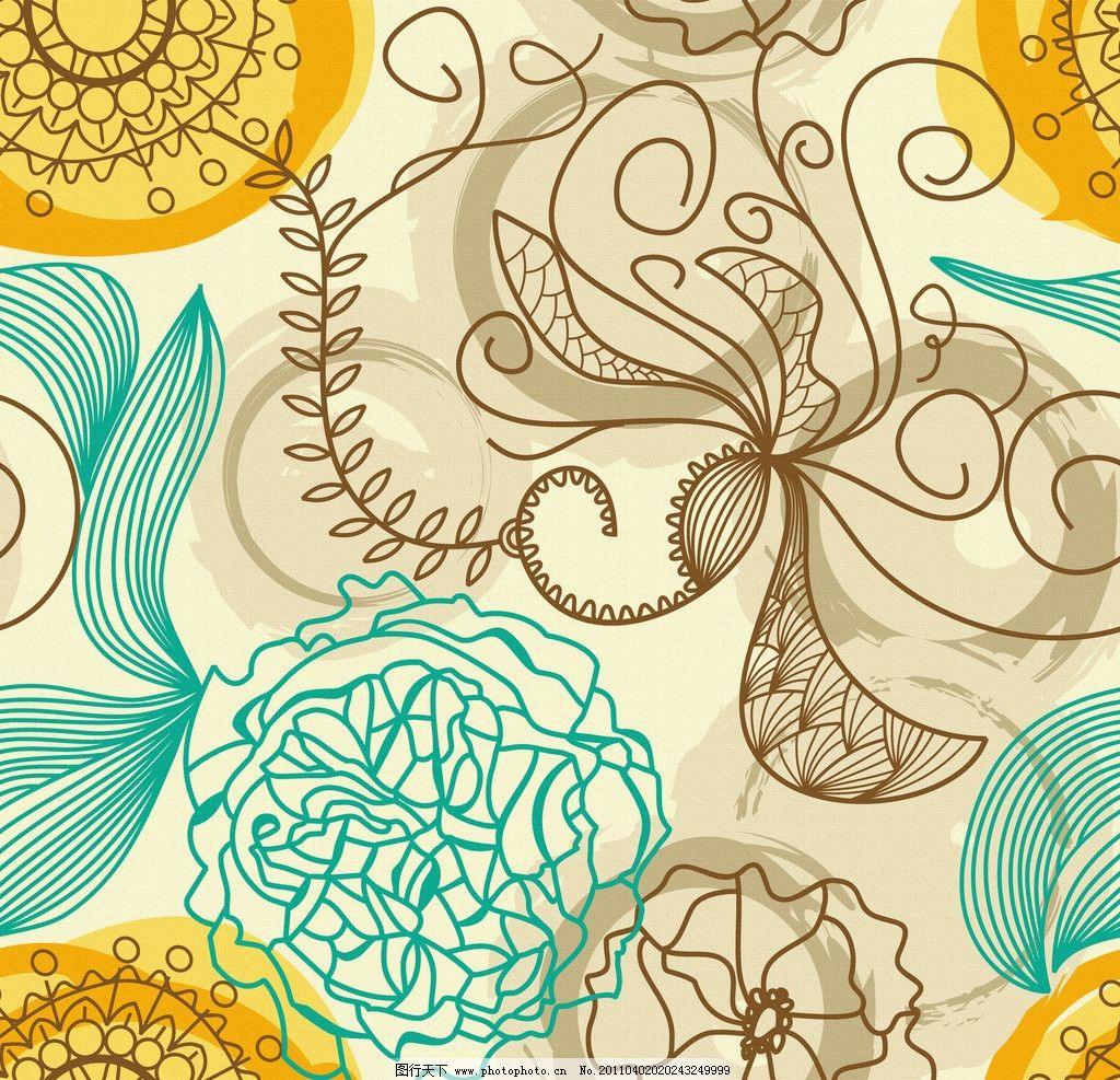 无框画 移门图案 布纹 墙纸 手绘花纹布纹 古典花纹 欧式古典花纹