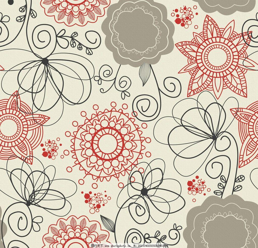 花纹布料纹理 无框画 移门图案 布纹 墙纸 手绘花纹布纹 古典花纹