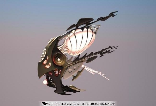 飞行器 飞船 飞机 机器 科幻 太空 外星人 源文件 飞行器素材下载