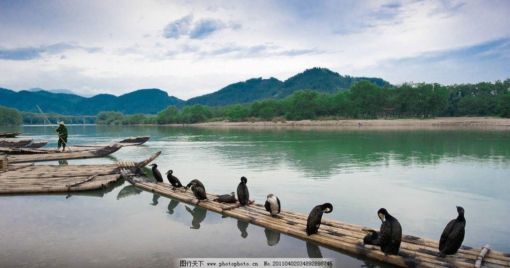 小小竹排江中游图片图片