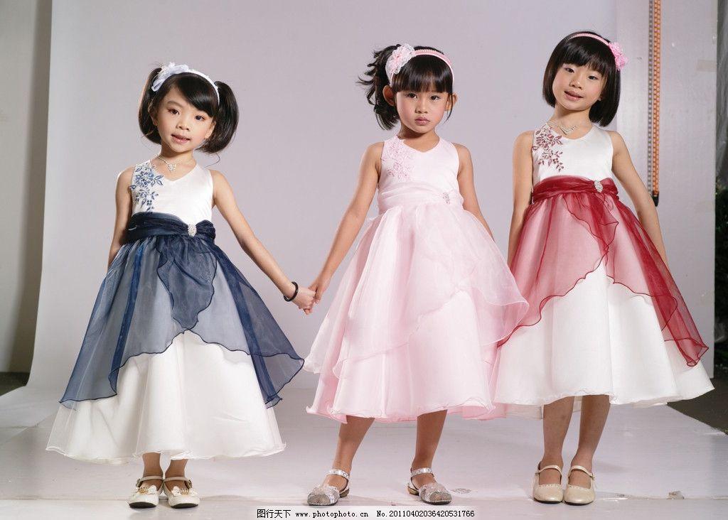 童装 服装模特 时尚服装
