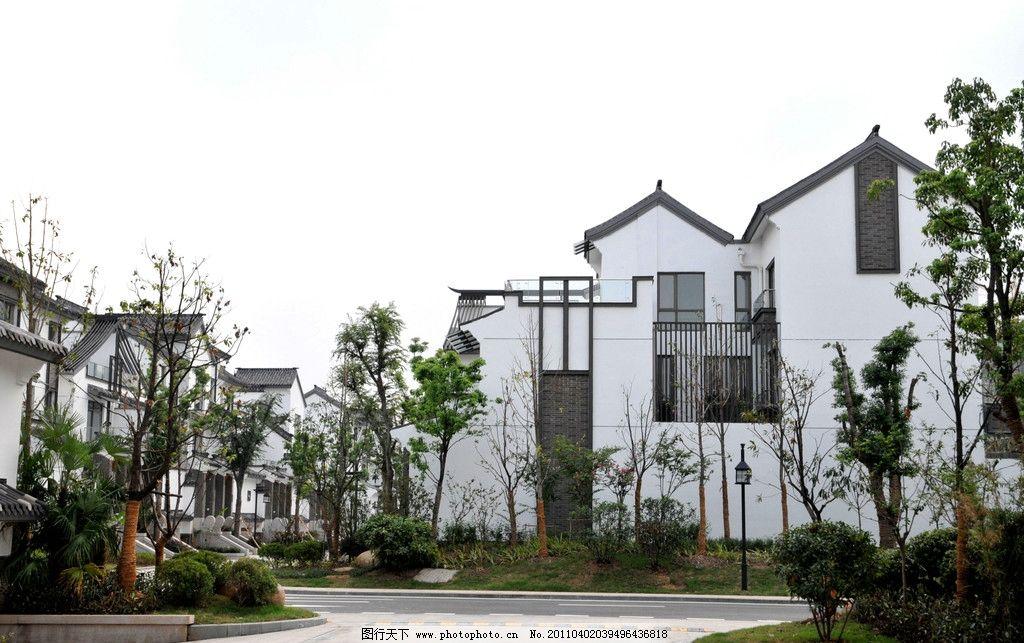 中式别墅建筑图片图片