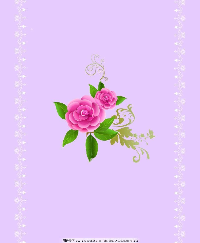 玫瑰心语 玫瑰花 移门 时尚花纹 背景底纹 底纹边框 设计 72dpi jpg