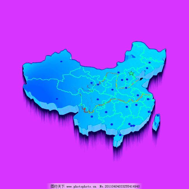 中国地图免费下载 风效果 展板设计素材 中国地图 中国风 中国地图 风