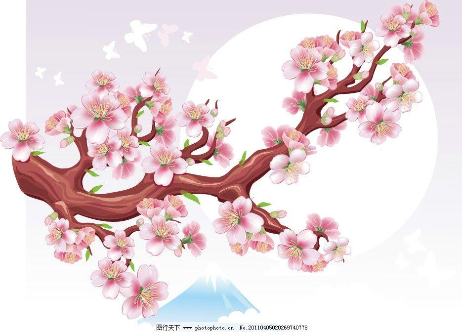 花枝 梦幻花纹 梦幻花朵 梦幻底纹 时尚花纹 时尚底纹 时尚花朵 唯美