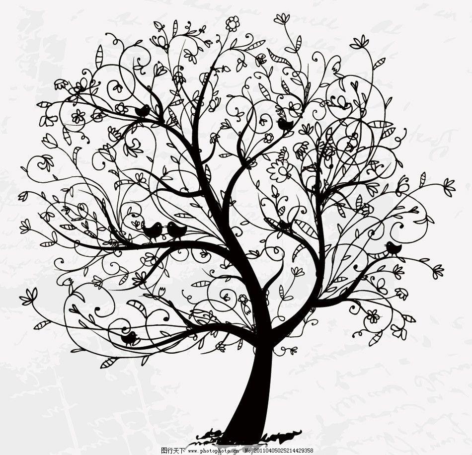 梦幻小鸟手绘图片
