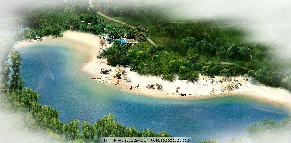水域 河岸 景观设计 环境设计 设计 72dpi jpg