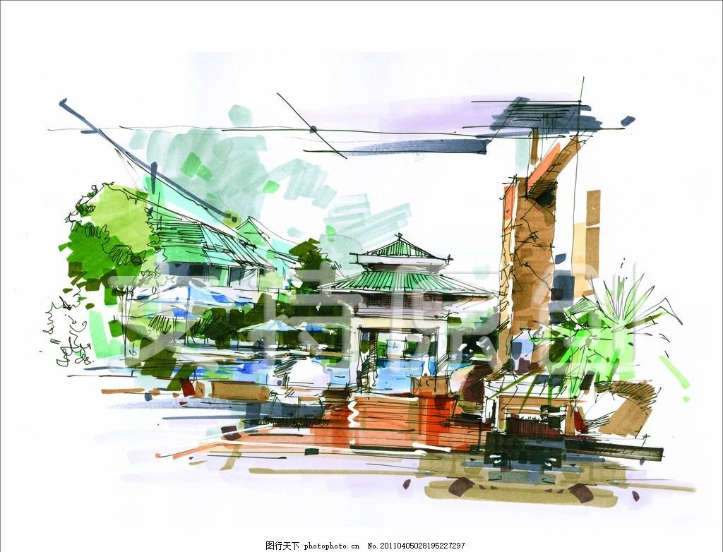 设计图库 环境设计 景观设计
