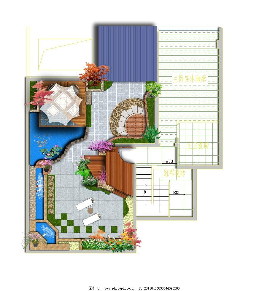 庭院设计 别墅景观 花园 私家花园 小庭院 景观设计 屋顶花园图片