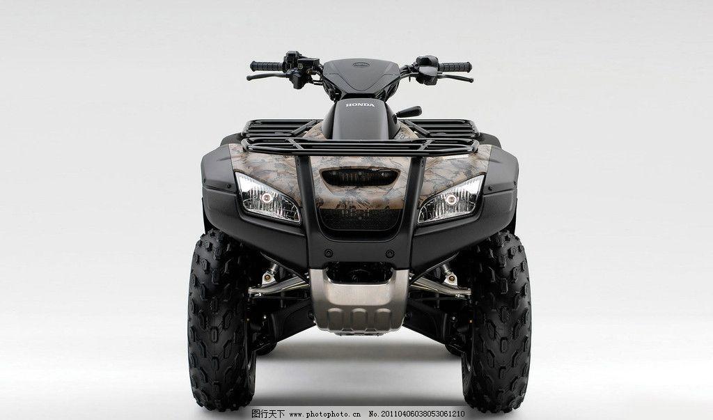 四轮摩托车 本田摩托车 本田 honda 摩托车 现代科技 交通工具 摄影图