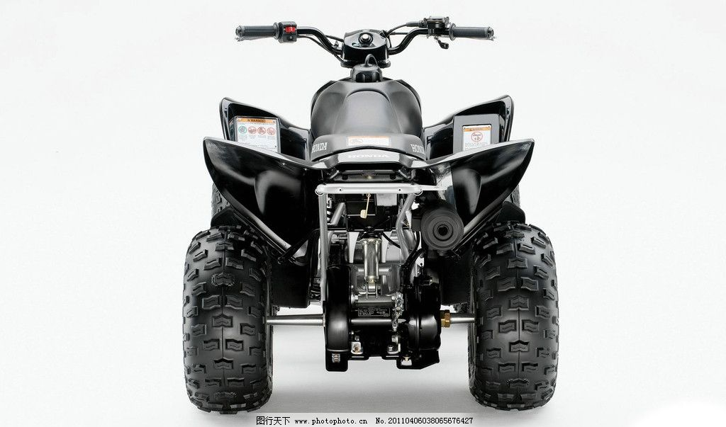 四轮摩托车 本田摩托车 现代科技 交通工具 摄影图库