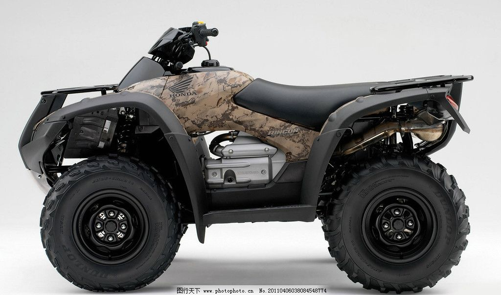 四轮摩托车图片