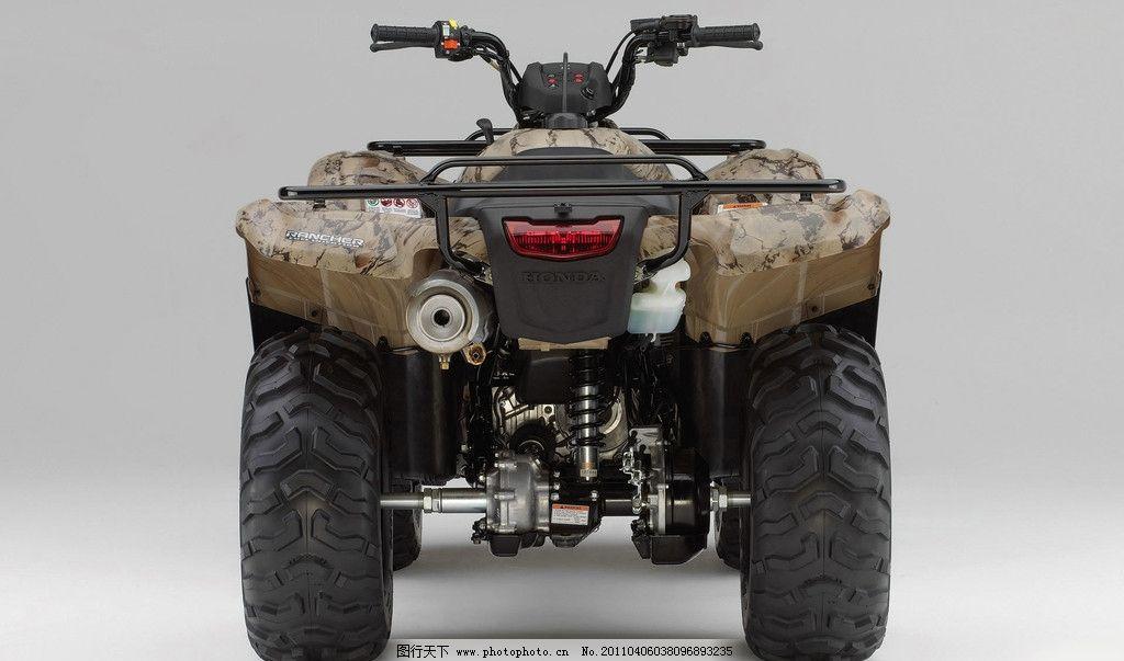 四轮摩托车 本田摩托车 本田 honda 摩托车 现代科技 交通工具 摄影