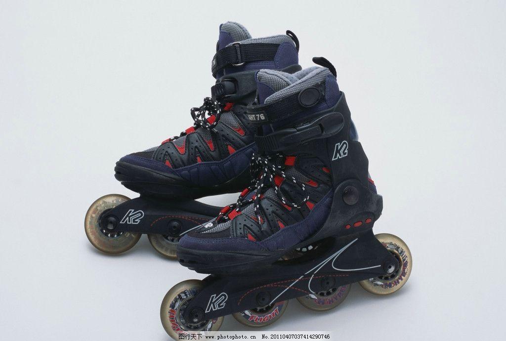 旱冰鞋 单排轮滑冰鞋 鞋子