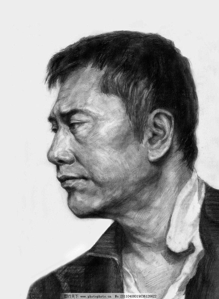 素描头像 头像素描 肖像 肖像素描 素描肖像 中国美术学院优秀作品