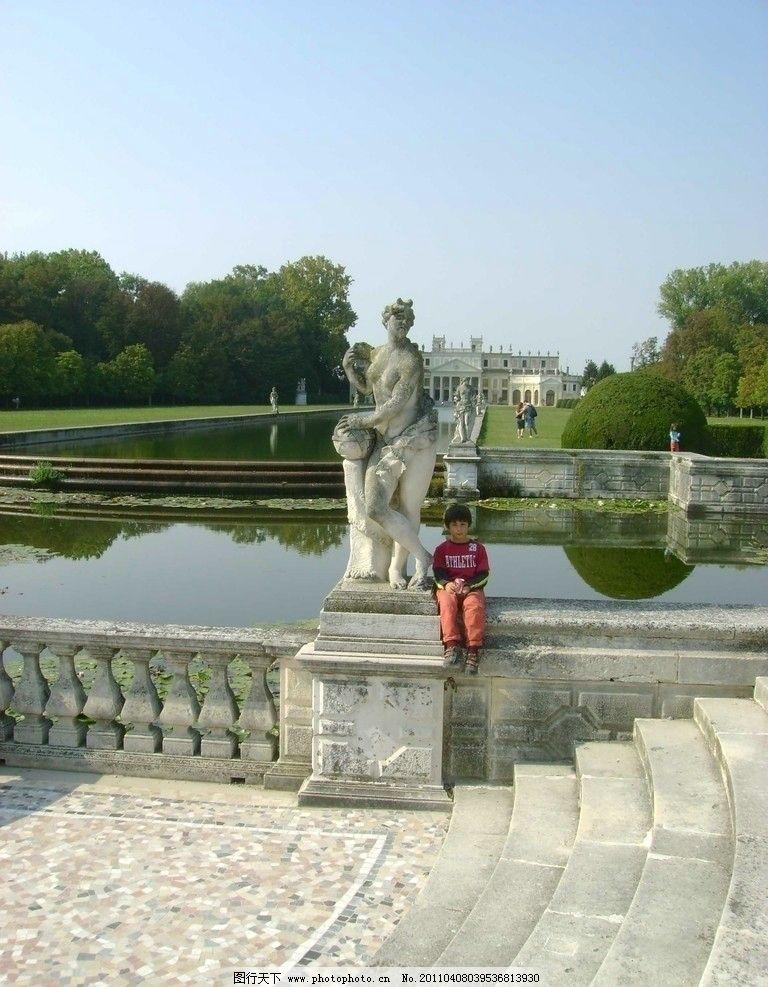 欧式园林建筑 雕塑 园林建筑 建筑园林 摄影 72dpi jpg