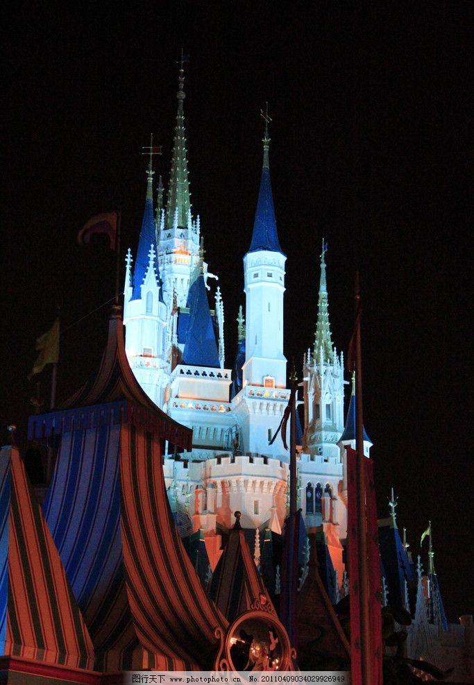 美国城堡画画图片