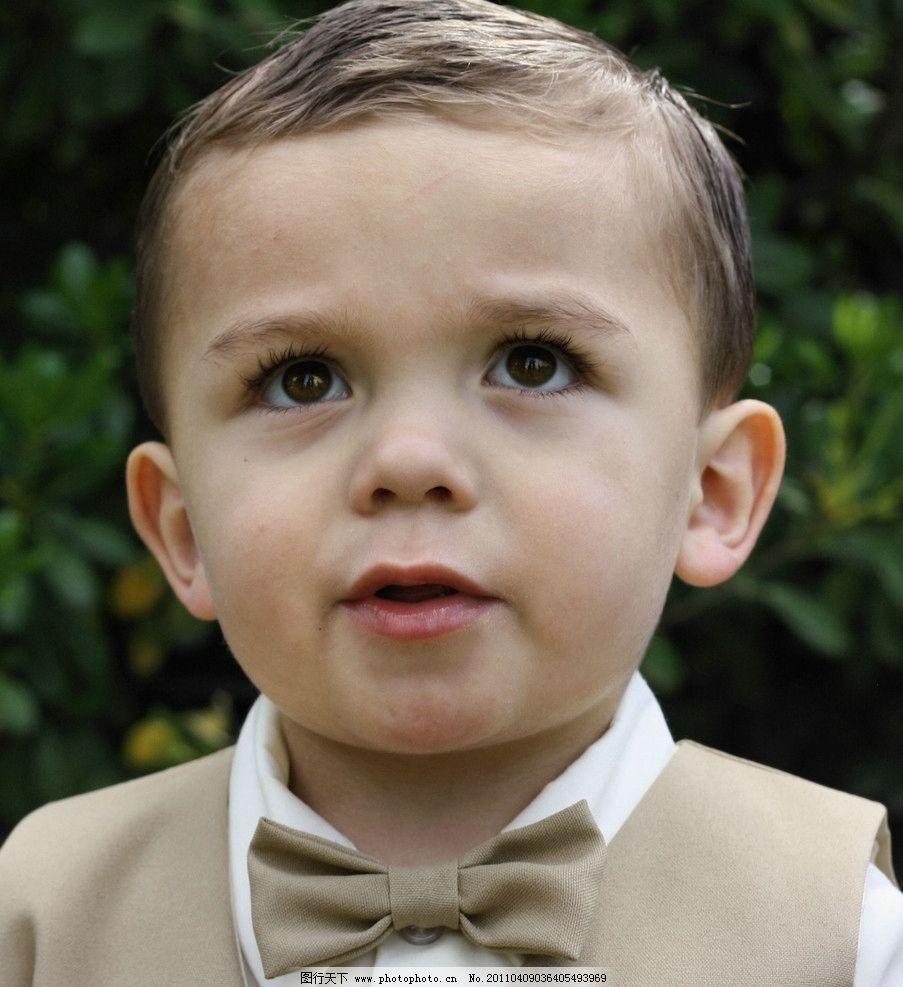 小男孩 幼童 黄头发 蓝眼睛
