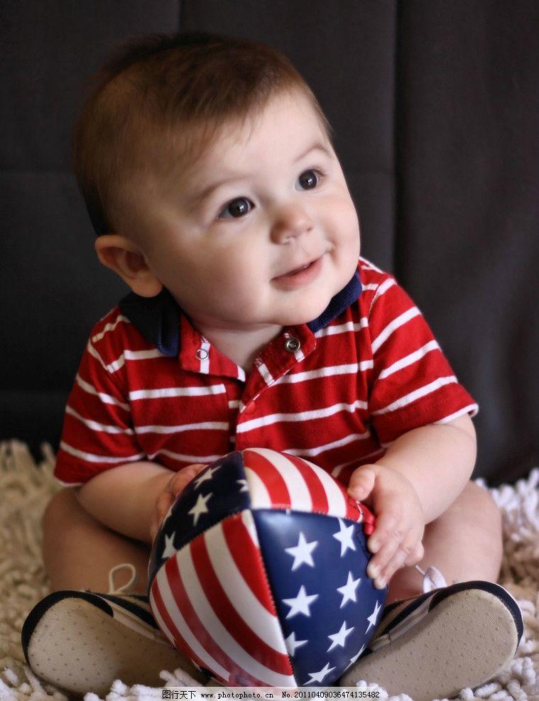 外国儿童 男宝宝 小男孩
