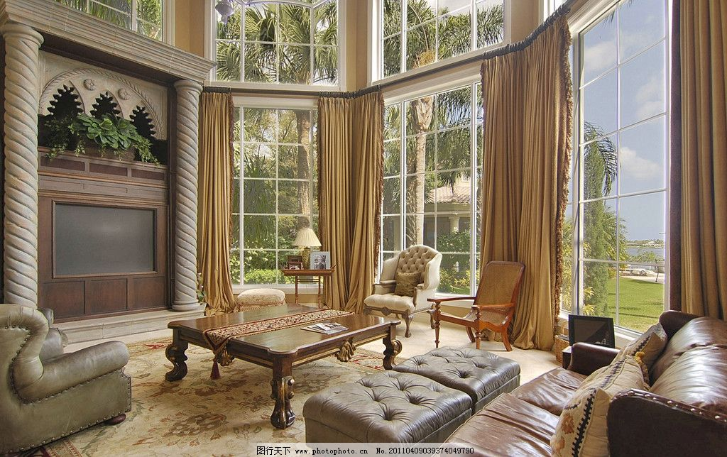 欧式室内设计 室内装潢 客厅设计 室内摄影 室内装饰 沙发 时尚