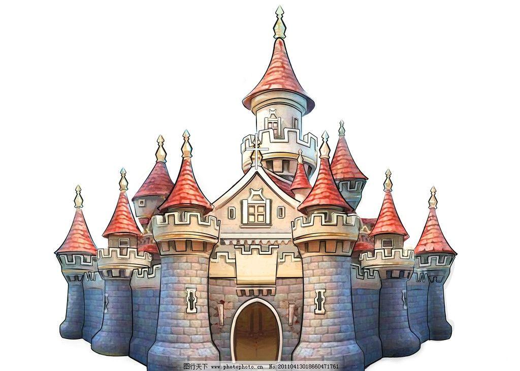 城堡 卡通 其他 动漫动画 设计 300dpi jpg