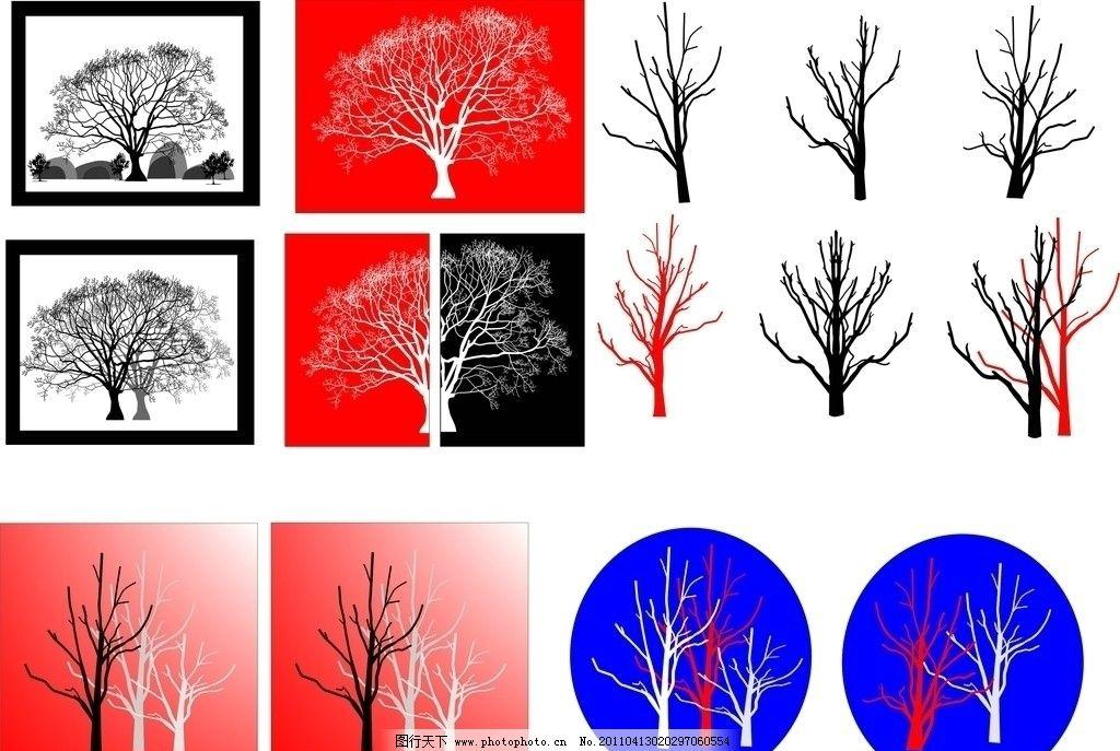 无框画图片,树 大树 树枝 壁纸 墙画 黑白画 玻璃画
