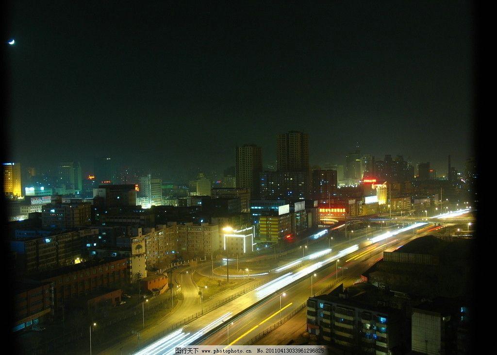 乌鲁木齐夜景图片_国内旅游
