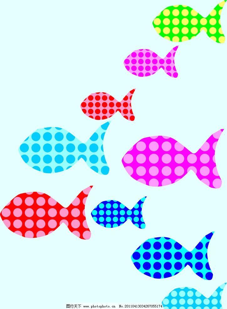 钩织简单小鱼图解
