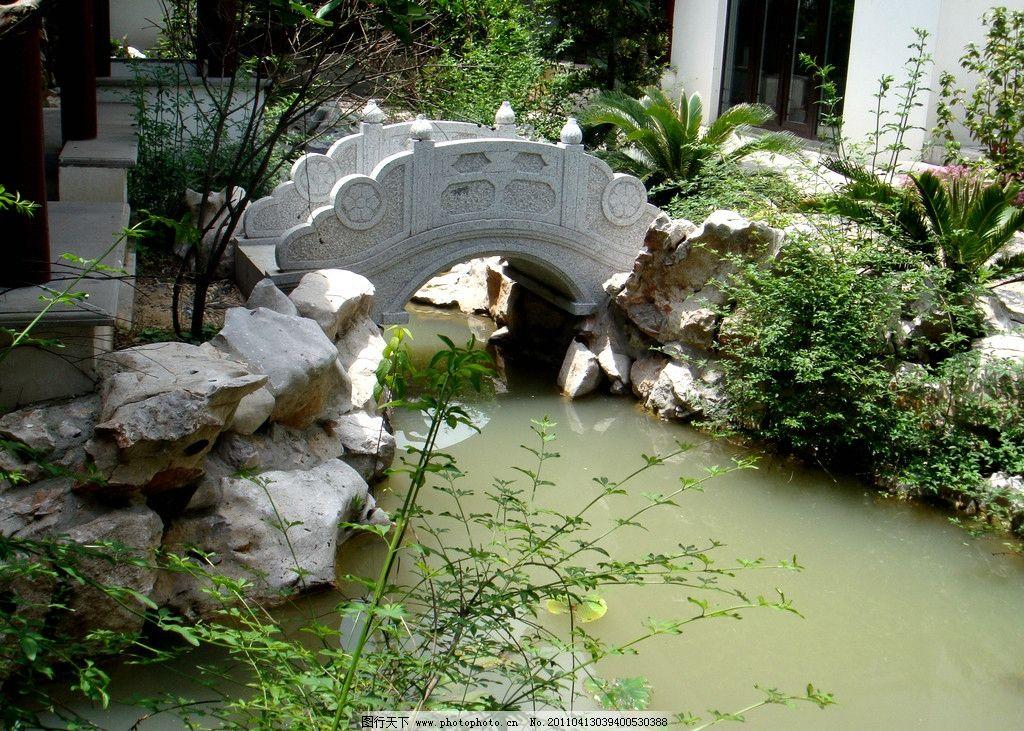 苏州园林 园林 桥 江南