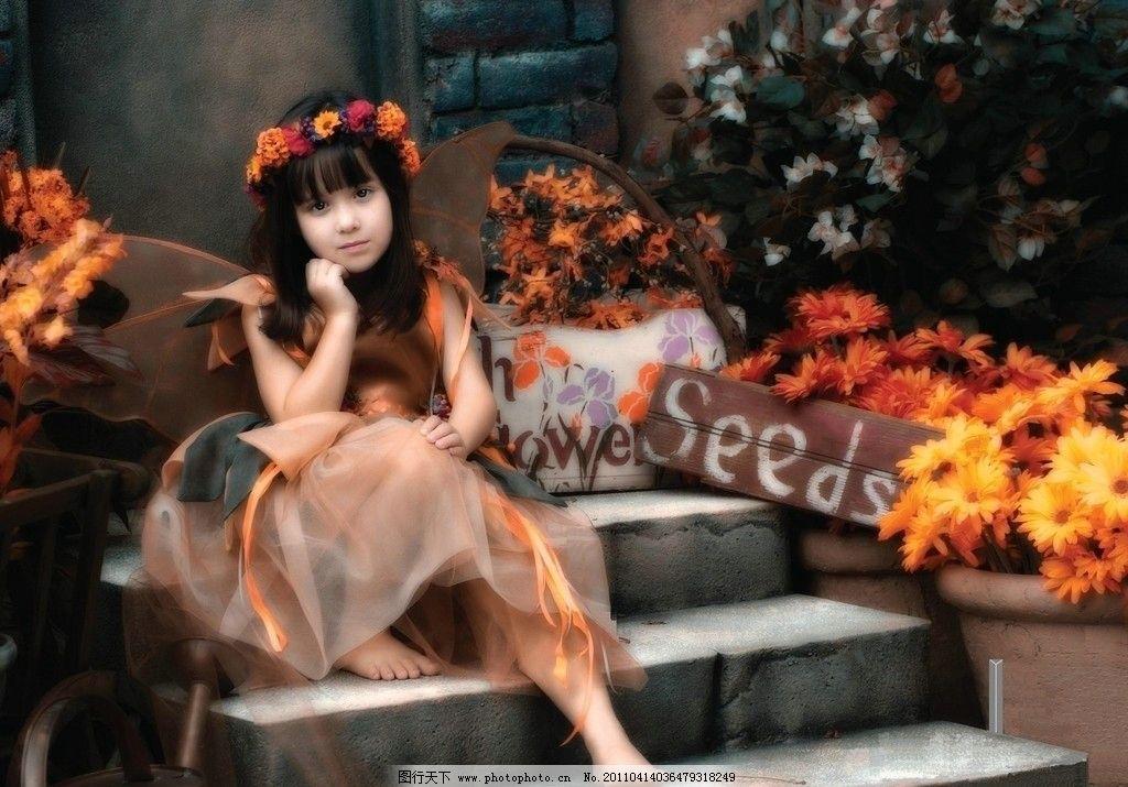 外国 美丽 小公主图片