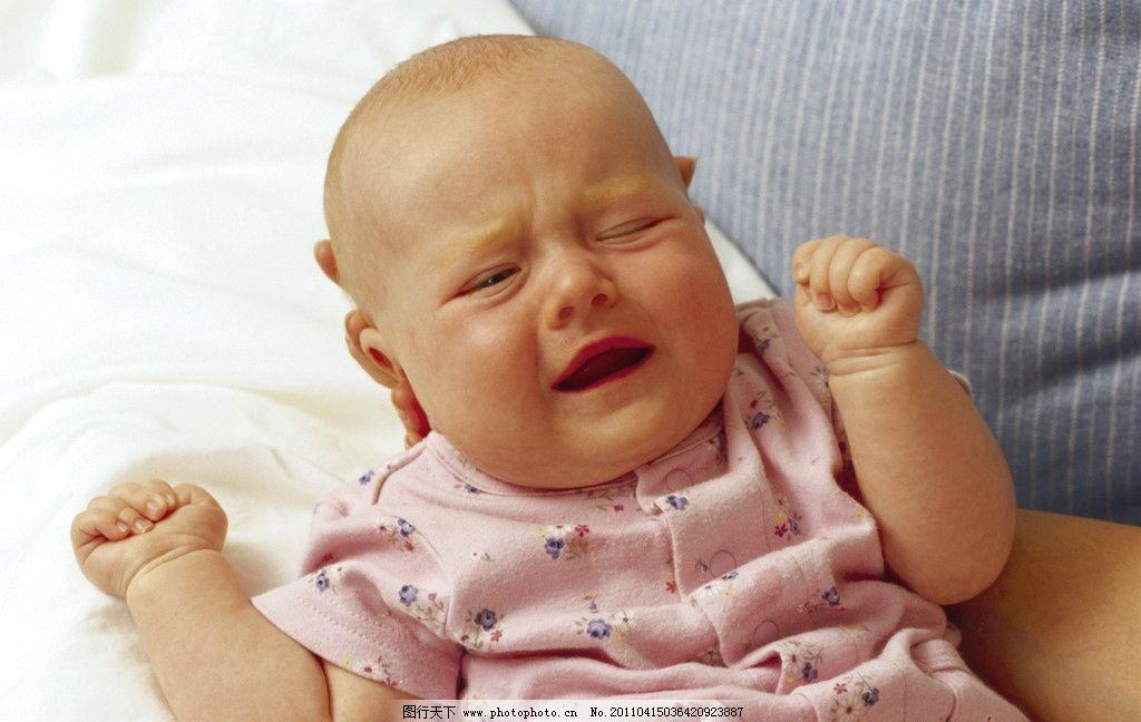 哭泣的婴儿 儿童 幼儿 婴儿 宝宝 小孩 可爱 天真 帽子 儿童幼儿 人物