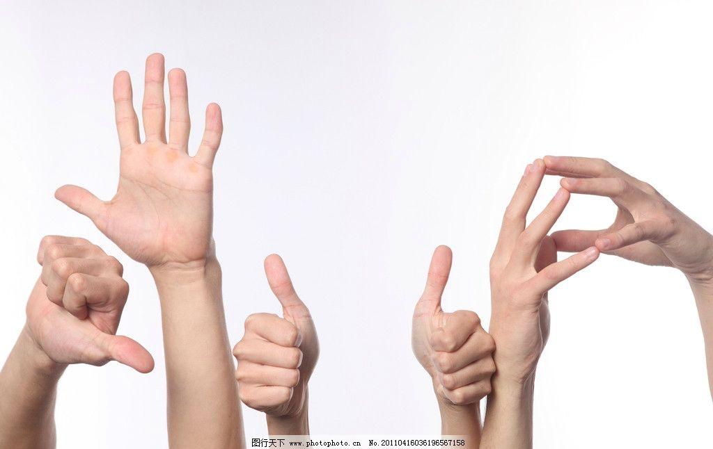 各种手势 手势 手掌 巴掌 手心 大拇指 好棒 成功 优秀 第一 第一手势 竖起大拇指 手部特写 男人手 女人手 指示 一群人的手 人物手势 猜拳 手指 伸出 团结 合作 人物高清图片(日常生活) 日常生活 人物图库 摄影 300DPI JPG