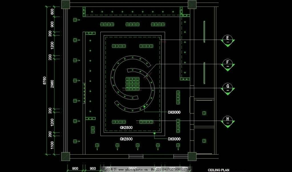 服装类cad设计素材 cad 图纸 平面图 素材 装修 装饰 施工图 室内设计