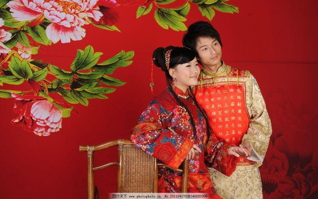 古装幸福新娘 人物摄影 古装新娘 幸福新娘 新娘 结婚照片 古装照片