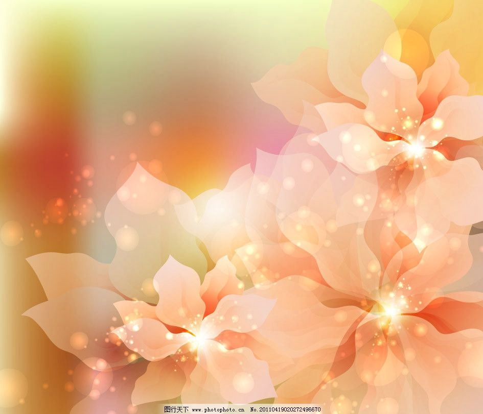 光晕 光影 光点 炫光 绚丽 璀璨 时尚 潮流 梦幻 唯美 华丽 花纹 花朵