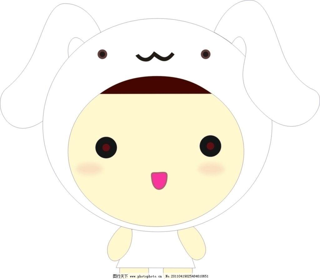 可爱的小兔图片