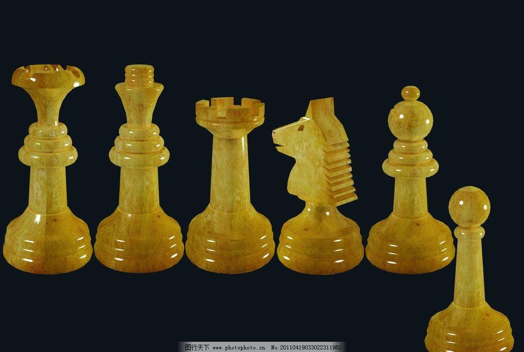 国际象棋 房产 房地产 金黄 黄金 大理石 黄色 黑色 马 皇帝图片