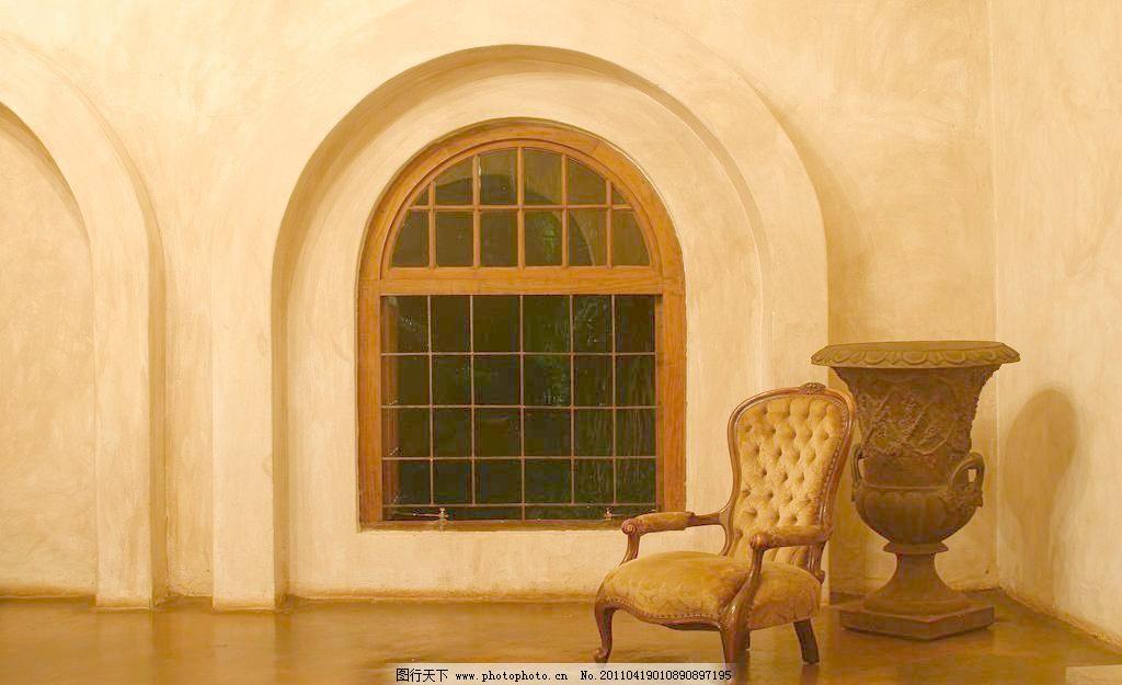 欧式住宅暖色系图片