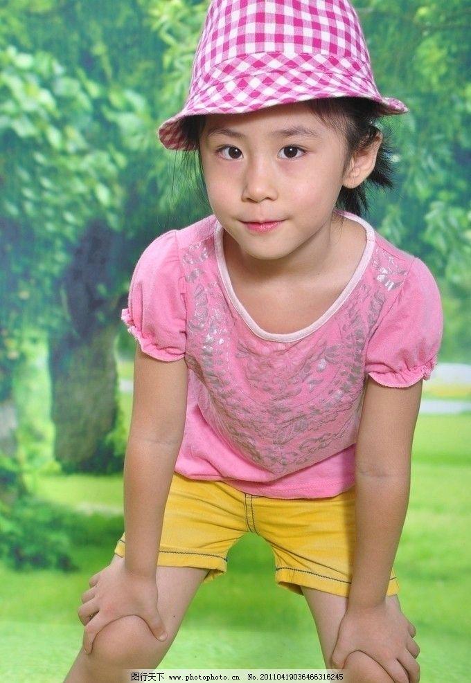 5岁女孩pose生活照 夏装 儿童照 儿童照片 儿童幼儿 摄影