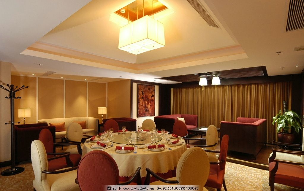 餐厅包厢 室内效果图 欧式      室内设计 环境设计 300dpi jpg 室内