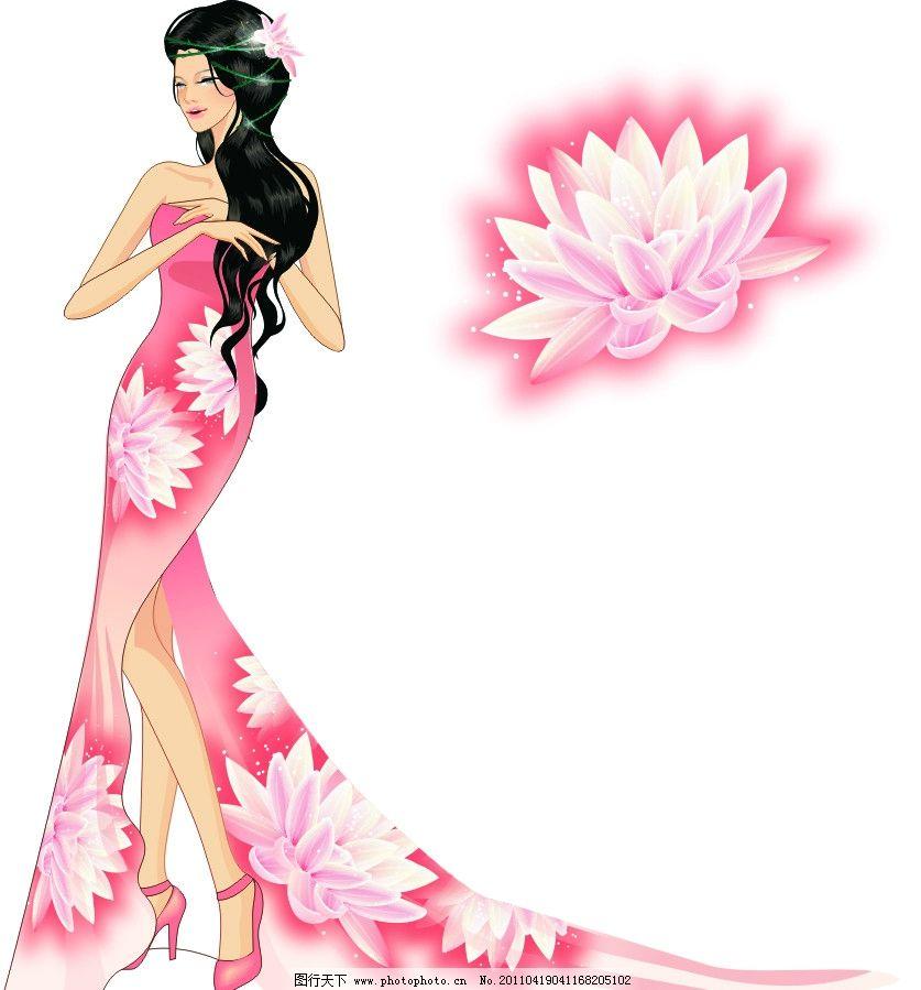 高贵典雅的古典美女图片