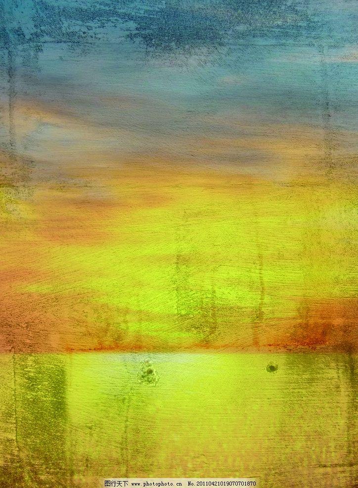 油画日出 油画 日出 绘画书法 文化艺术 设计 300dpi jpg