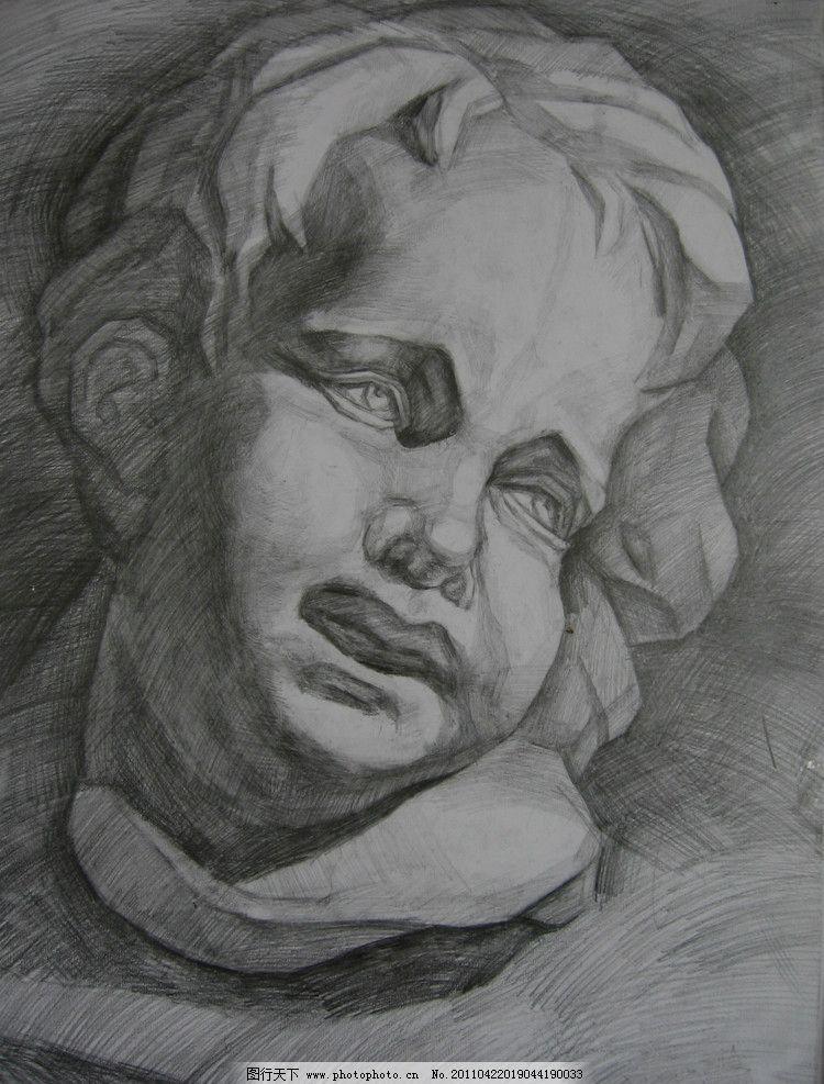 石膏头像 石膏像 素描石膏像 素描 人像 石膏 人头像 人 男人 雕塑 高考 绘画 画 手绘 头像 线描 高考石膏头像 中国美院石膏头像作品 中央美院石膏头像作品 绘画书法 文化艺术 设计 180DPI JPG