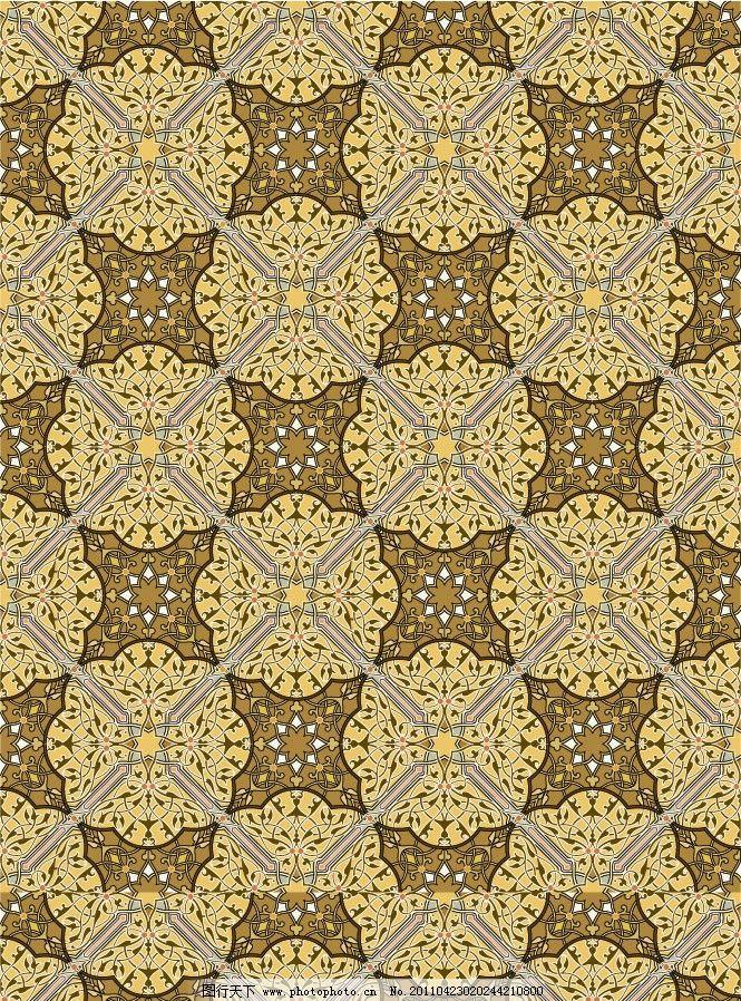 无缝欧式古典花纹底纹图片