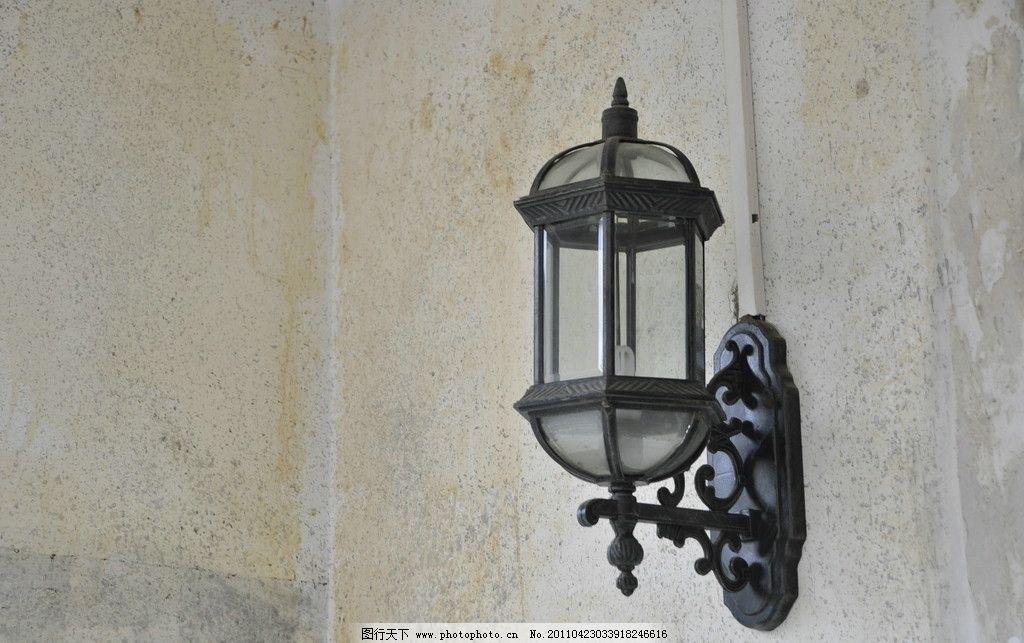 壁灯 古代建筑 欧式 欧式壁灯 旧灯 玻璃灯 墙灯 灯 马灯 国内旅游